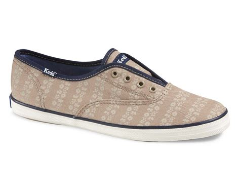 laceless athletic shoes keds s athletic shoe chion laceless taupe