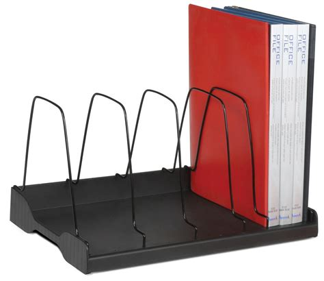 Divider Rack by Adjustable Book Rack 6 Wire Dividers W388xd275xh220mm