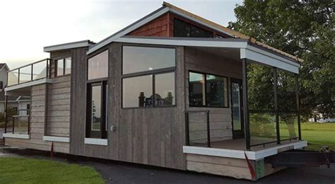 tiny house for sale near me luxurious modern 400sf tiny home in wisconsin by utopian