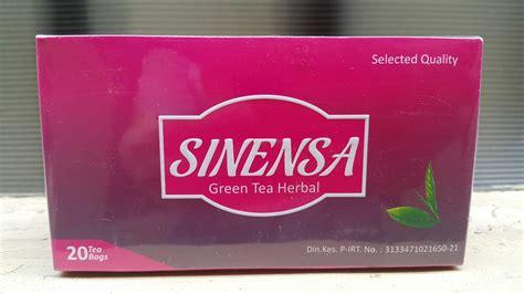 Sinensa Green Tea Herbal sinensa green tea herbal pusat penjualan produk sinensa