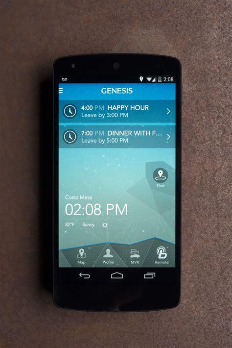 hyundai blue link remote start hyundai launches genesis intelligent assistant blue link