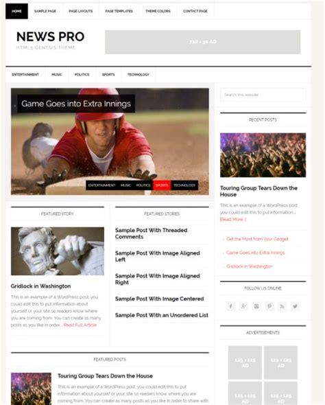 education pro theme review studiopress worth news pro theme review studiopress worth