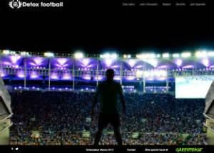 Greenpeace Deutschland Detox by Detox Football Greenpeace Fordert Adidas Zum Umdenken Auf