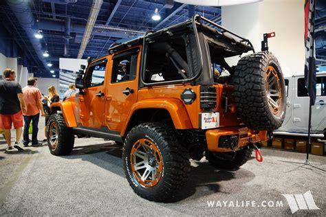 2017 jeep orange 2017 sema rugged ridge orange jeep jk wrangler unlimited