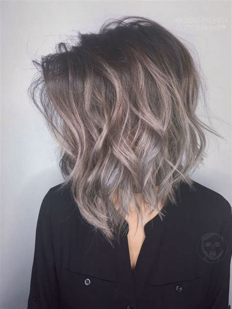 grey hair on mid length hair 25 trending gray balayage ideas on pinterest gray ombre