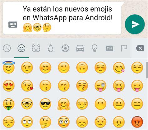 los emojis de whatsapp web por fin en 3d as com whatsapp para android tiene nuevos emojis te decimos