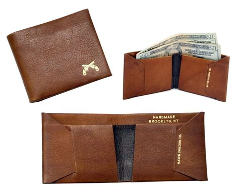 Handmade Leather Wallet Pattern - single no sew wallet wallet designs