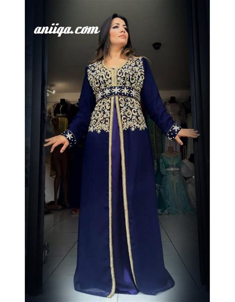 Kaftan Cyrstal caftan tendance de mariage caftan marocain moderne simple
