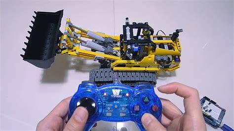 tutorial lego power functions pc gamepad full rc lego power functions 8043 b model