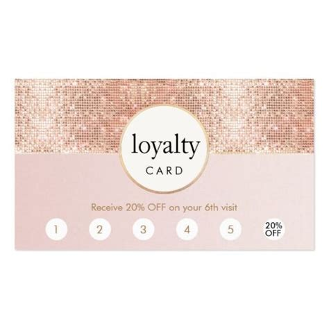 loyalty business cards templates 20 best punch card templates free