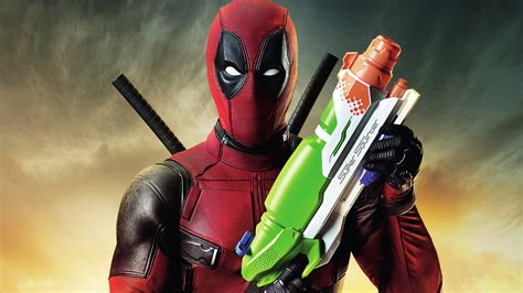 deadpool super squirter wallpapers hd wallpapers id