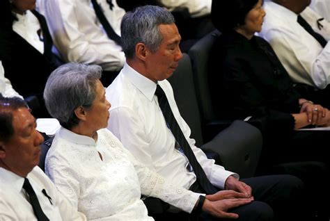 lee hsien loong fathers state funeral will be a moment though not touchy feely as a father mr lee kuan yew