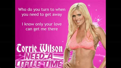 torrie wilson theme torrie wilson wwe theme need a little time lyrics
