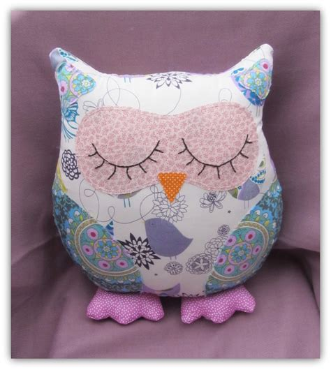 Handmade Owl Cushion - songbird owl cushion folksy craftjuice handmade