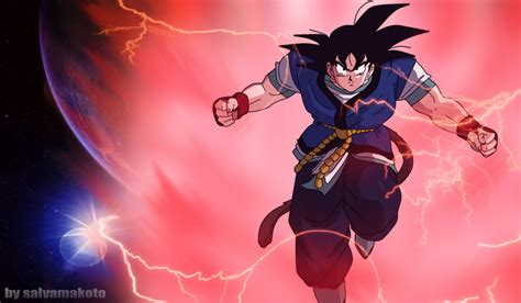 wallpaper dragon ball absalon son goku absalon by salvamakoto on deviantart