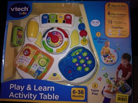 play and learn activity table brand new vtech play and learn table for sale in