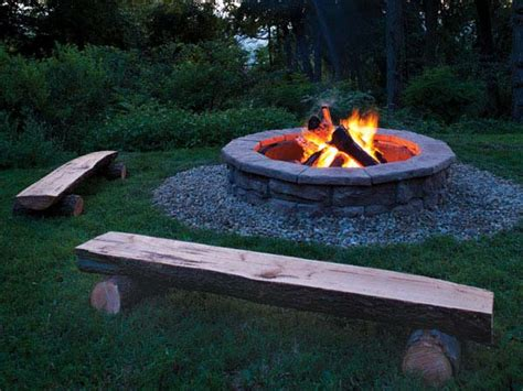 building fire pit in backyard how to build a fire pit 5 diy fire pit projects