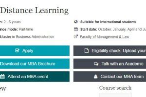 Mba By Correspondence Uk by Siteimprove The Web Team