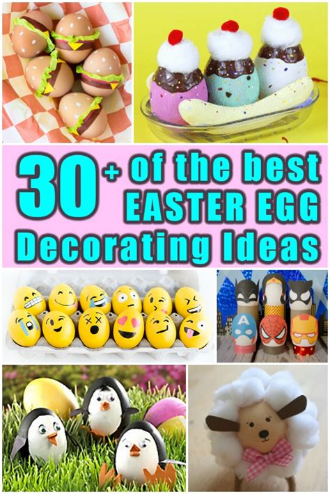 best easter egg 30 of the best easter egg decorating ideas living