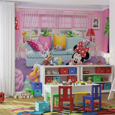 minnie mouse wall mural disney minnie mouse wall paper mural buy at europosters