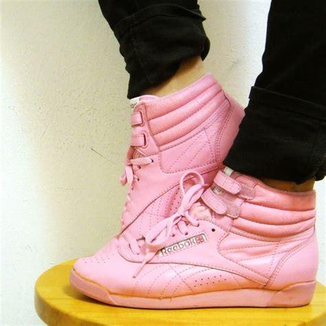 Yea Or Nay Reebok Aerobic High Top Sneakers 5999 17 best images about oldschool reebok on
