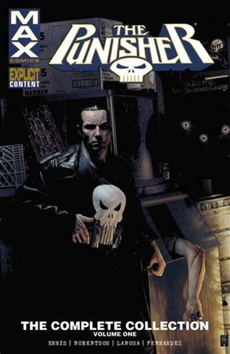 punisher max complete collection vol 1 the punisher max comics
