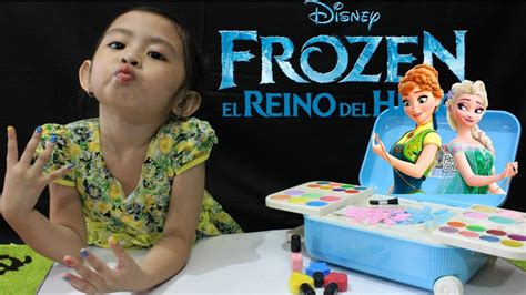 Sofa Anak Print Frozen frozen make up mainan anak make up frozen