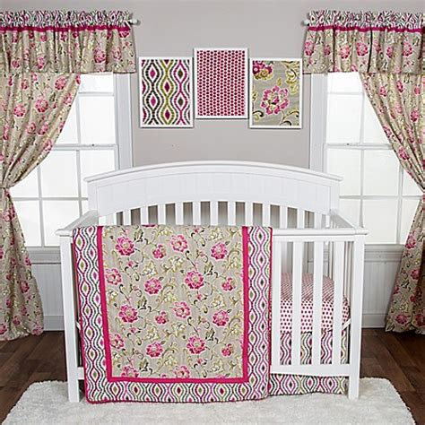 Waverly Crib Bedding Buy Waverly 174 Baby By Trend Lab 174 Jazzberry 3 Crib Bedding Set From Bed Bath Beyond