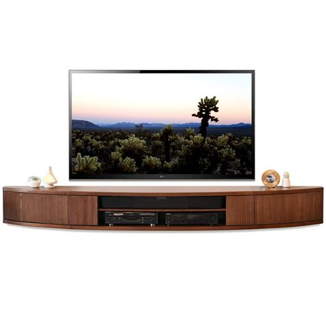 Kitchen Collections Coupons floating tv stand mid century modern entertainment center