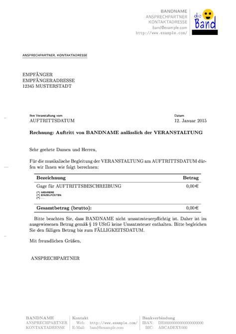 Rechnung Kleinunternehmer Iban Eine Vorlage F 252 R Rechnungen 187 Balance Of Cowards