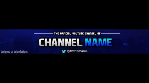 newsflare free gaming banner template for youtube channel 5