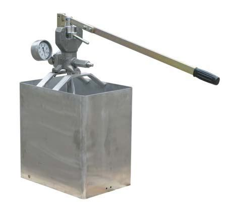 test su hidro test pompas箟 su test pompalar箟 hydrostatic test