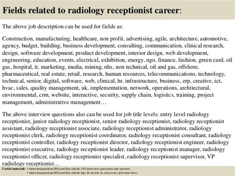 barnes hospital volunteer application top 10 radiology receptionist questions and answers