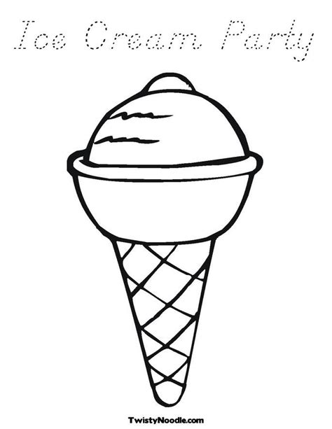 Ice Cream Sundae Coloring Page Coloring Home Sundae Coloring Page