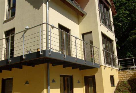 Edelstahl Balkon by Treppen Und Gel 228 Nder Aus Edelstahl Metallbau Reck Bei