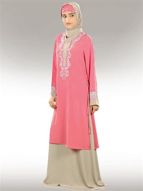 Jilbab Afrakids Ja009 Soft Pink Size L bariah abaya ay298 jilbab burka islamic