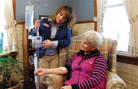 home outpatient infusion services rubenson