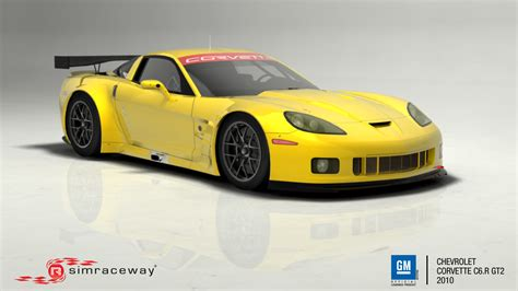 simraceway general motors corvette c6 r gt2