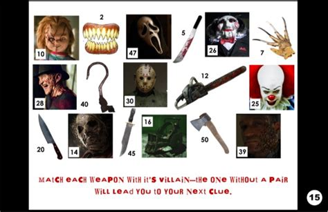 horror film quiz questions and answers horror movie party game printable horror flick trivia
