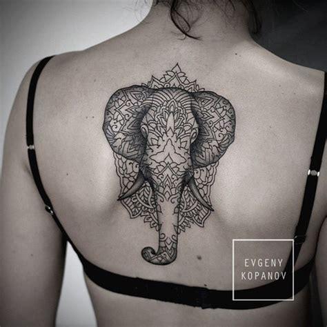 polynesian elephant tattoo polynesian elephant on back
