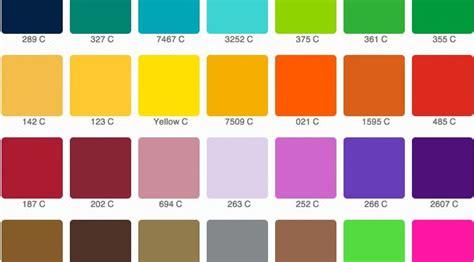 tavole colori per pareti i colori pantone in photoshop creazione e gestione
