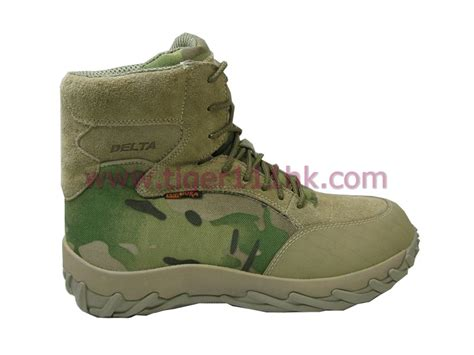 Kickers Delta Tactical Safety Made In Brown delta multi camouflage tactical boots multicam airsoft