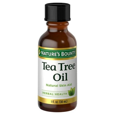 is pure tea tree oli good for ingrowing hairs nature s bounty natural tea tree oil 1 oz target