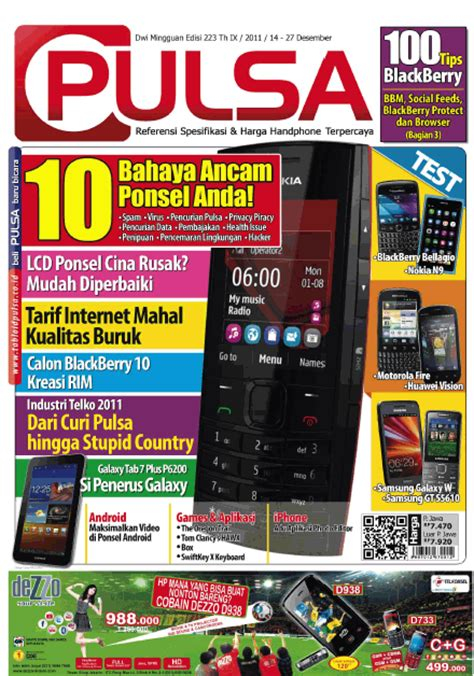 3 Tabloid Pulsa All Software For Youre Computer Tabloid Pulsa Edition211 Updated Free