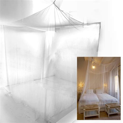 bed mosquito net mosquito net fly insect protection bed curtain single double bed travel cing ebay