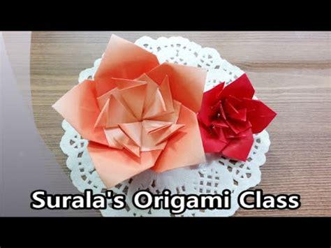 Origami Azalea - origami royal azalea flower 종이접기 철쭉 진달래 꽃