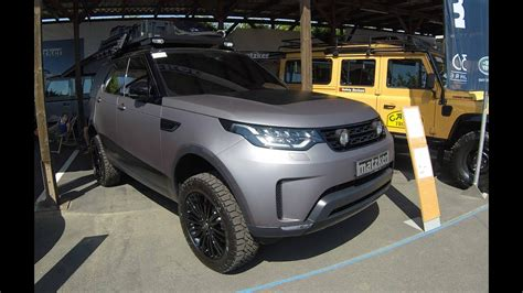 matte range rover 2017 land rover discovery 5 hse td6 dc8 model 2017