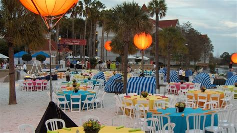 summer themed events beach disney event group