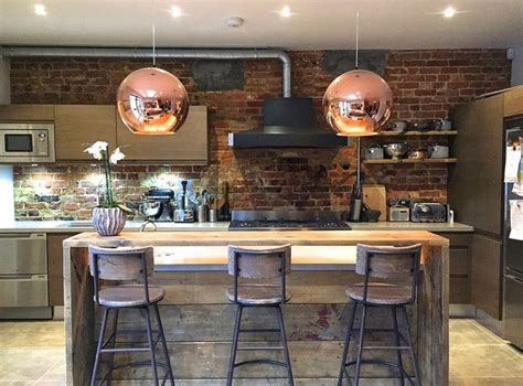 Modern Kitchen Island Pendant Lights 100 kitchen examples with an industrial look fresh