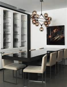 Contemporary Dining Room Lights by 10 Modern Globe Chandeliers And Pendant Lights